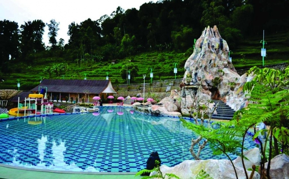 Eksterior di Ciwidey Valley Resort Hot Spring Waterpark