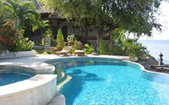 Pool di Dancing Dragon Cottages