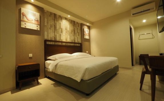 Bedroom di De Boutique Style Hotel