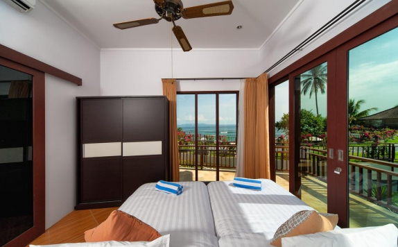 Kamar tidur di Discovery Candidasa Cottages and Villas