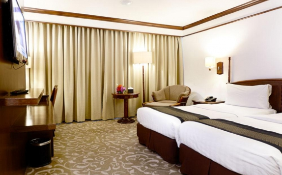 Guest room Twin Bed di eL Royale Hotel Bandung