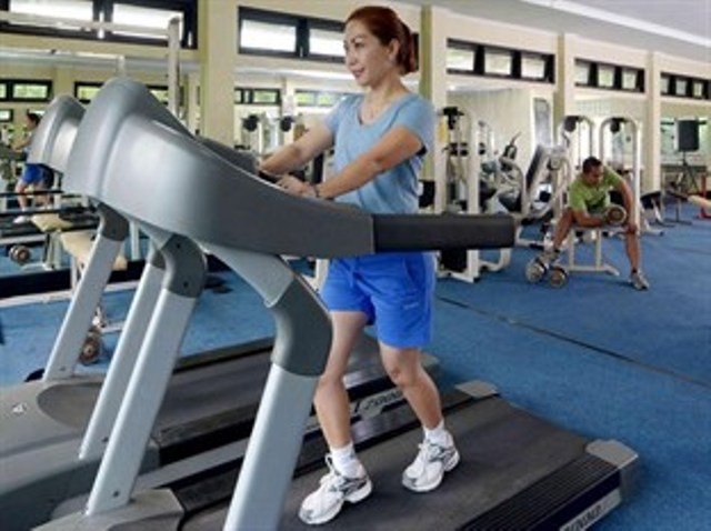 Gym di Grand Cempaka Resort & Convention