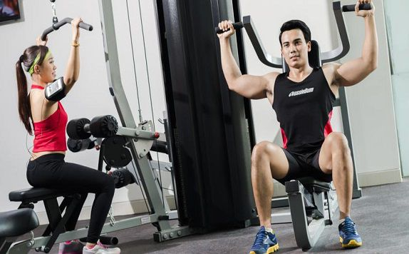 Fitness Center di Harris Hotel and Conventions Denpasar Bali
