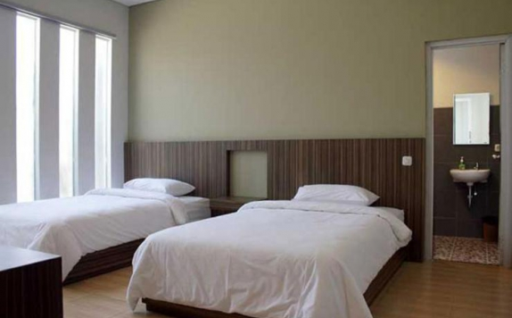 Tampilan Bedroom Hotel di Link Costel