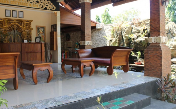 Lobby di Man's Cottages and Spa