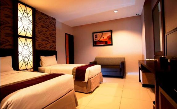 guest room twin bed di Nasa Hotel