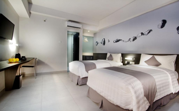 guest room twin bed di Neo Tendean