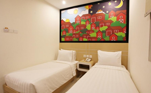 bedroom di Nite & Day Surabaya Gunung Sari