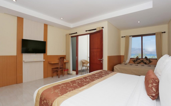 Guest Room di Ombak Paradise Hotel