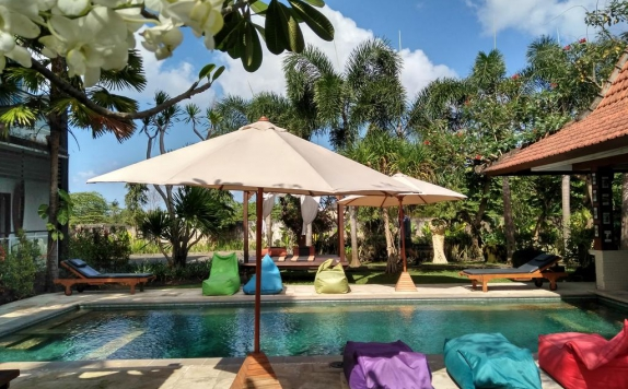 Outdoor Pool Hotel di Premier Surf Camp