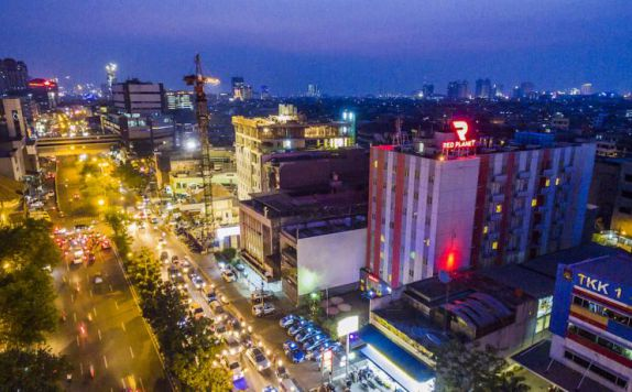 Aerial View di Red Planet Hotel Pasar Baru