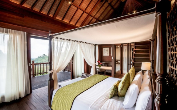 Double Bed Room Hotel di Royal Tulip Saranam Resort And Spa