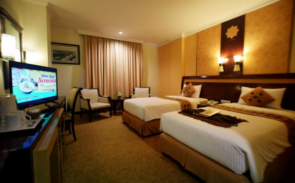 Guest room di Semesta Hotel and Convention