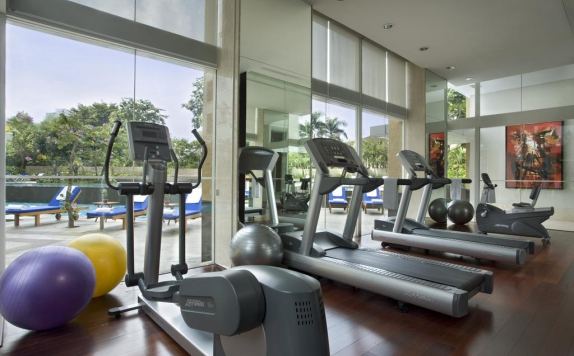 Gym and Fitness Center di Somerset Berlian Jakarta (Apartment)