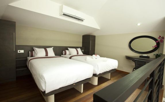 guest room twin bed di Sun Boutique