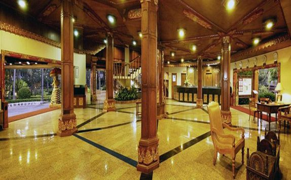 Lobby di The Jayakarta Bali Beach Resort Residence and Spa