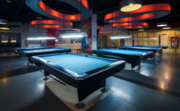 billiard di The Square Hotel