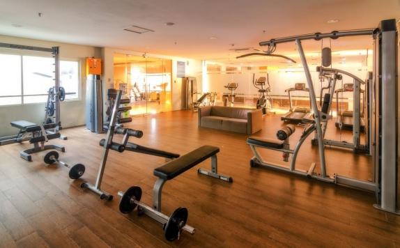 Gym and Fitness Center di The Square Hotel