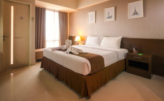 Tampilan Bedroom Hotel di The Square Hotel