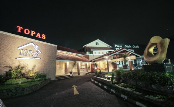 Front view di Topas GaleriaHotel