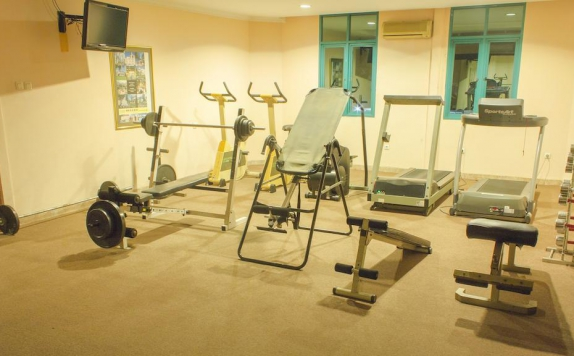 Gym di Travellers Suites