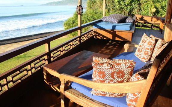 Terrace di Turtle Bay Hideaway Villas