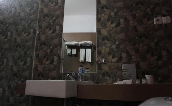 Bathroom di VillaTel Salse
