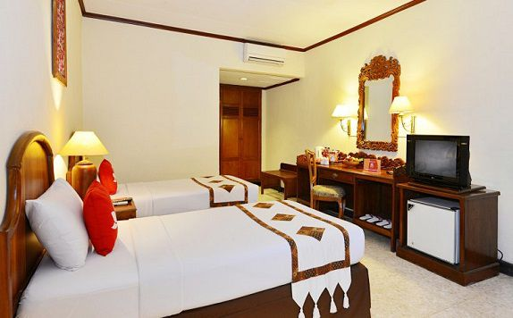 Twin Room di ZEN Rooms Jogja Cendrawasih