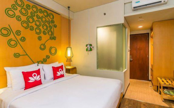 Bedroom di ZEN Rooms Legian Werkudara
