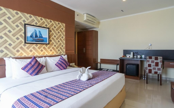 Bedroom di Aerotel Smile Makassar
