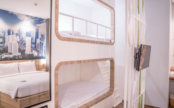 Bedroom di All Nite and Day Residence Kebon Jeruk