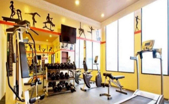 Gym and Fitness Center di Amos Cozy Hotel