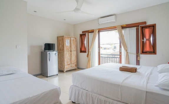 Amenities di Andy's Surf Villa and Bungalows