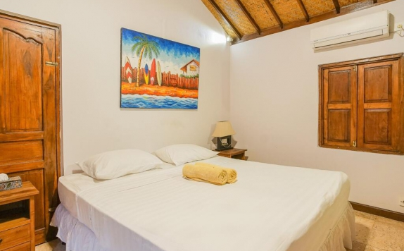Guest Room di Andy's Surf Villa and Bungalows