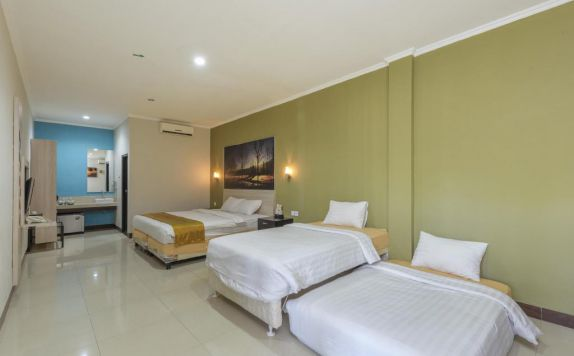 guest room di Asoka City Hotel