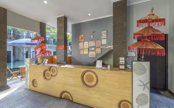 receptionist di Asoka City Hotel