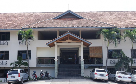 Area Parking di Augusta Garut Hotel