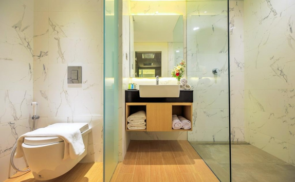Bathroom di Aveta Hotel
