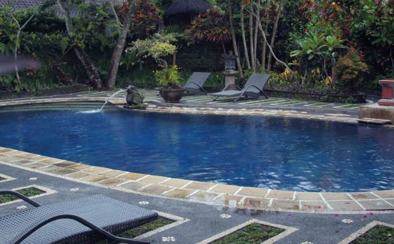 Swimming Pool di Bali Garden View Cottage Ubud