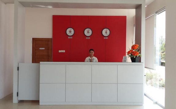 Receptionist di Bangka City Hotel