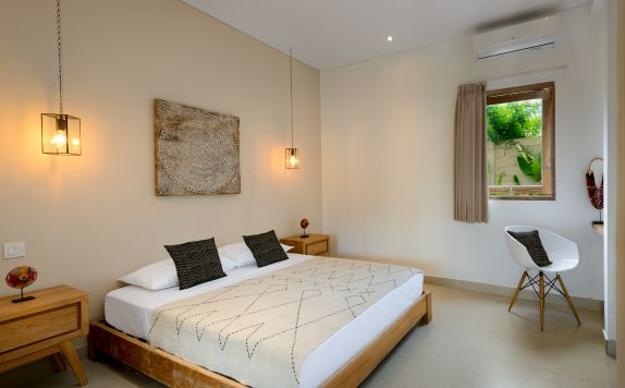ONE BEDROOM APARTMENT BEDROOM di Canggu beach apartments