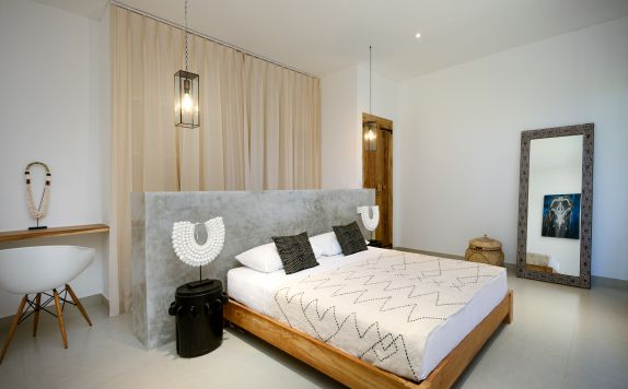 TWO BEDROOMS APARTMENT MASTER BEDROOM di Canggu beach apartments