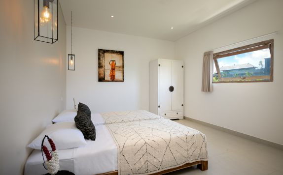 TWO BEDROOMS APARTMENT SINGLE BED BEDROOM di Canggu beach apartments