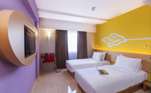 Bedroom di Best Western Kuta Beach