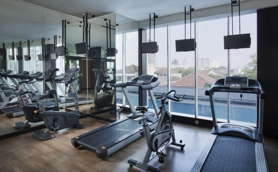 Gym di Best Western Premier The Hive