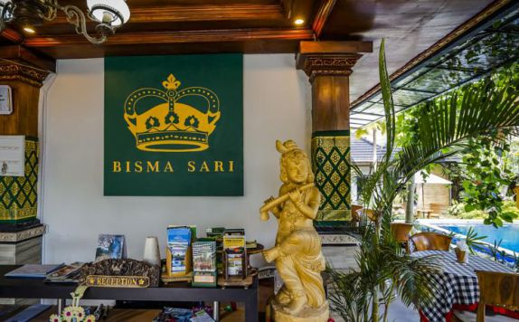 Reception di Bisma Sari Resort Ubud