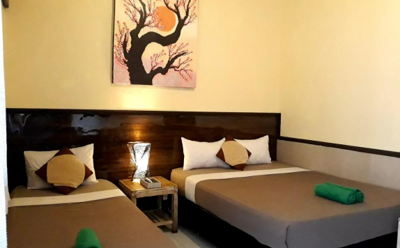 Bedroom di Bless Hotel