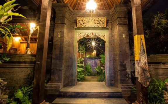 Entrance di Bliss Ubud Spa & Bungalow