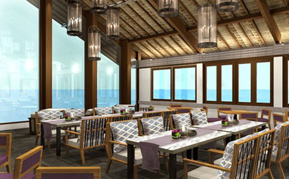 Restaurant di Blue Point Bay Villas & Spa