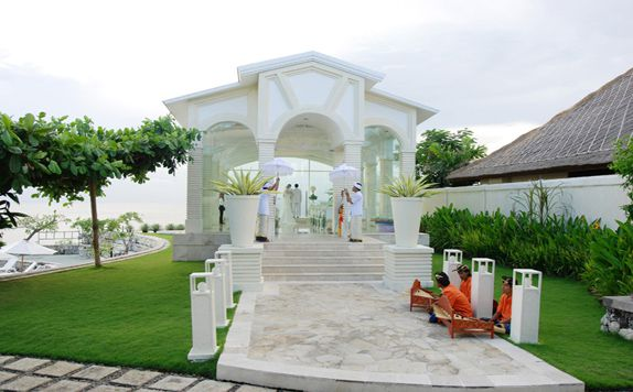 Wedding Vanue di Blue Point Bay Villas & Spa